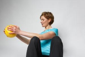 Pilates mit Ball mit Daniela Weißenborn Gotha